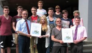 Verleihung des RWE-Klimaschutzpreises 2013