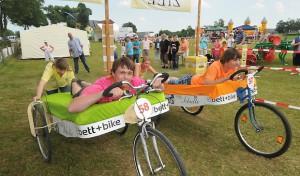 Vom Hochrad bis zum E-Bike: Fahrradfest am Möhnesee