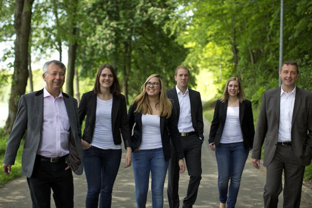 Das neue Team von Bigge Energie freut sich darauf, Kunden rund um die  Energie vor Ort zu beraten (Foto: BIGGE ENERGIE GmbH & Co. KG).