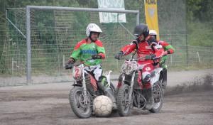 Motoball-Bundesliga: Tornado Kierspe gegen Halle