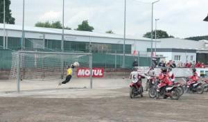 Motoball-Bundesliga: Tornado Kierspe mit Kantersieg