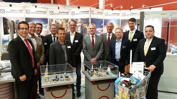 Photo of Regionale Firmen knüpfen auf Maschinenbau-Messe Kontakte