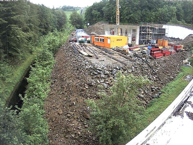 Photo of Webcam zeigt HSW-Großprojekt unterhalb des Hennesees
