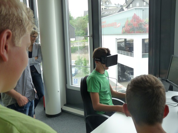 Interaktiv ging es 2013 bei der Conze Informatik GmbH zu (Foto: KM:SI GmbH).