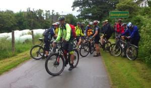 Hilchenbach: Biker trotzen dem Regenwetter