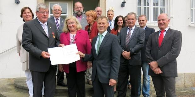 Photo of Verdienstmedaille für Theo Disselhoff aus Arnsberg
