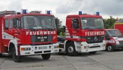 <b>130 Feuerwehrmänner auf dem Weg nach Greven</b>