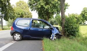 Verkehrsunfall in Lippstadt-Hörste