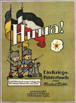 Die Kriegs-Propaganda setzte schon im Kindergarten ein (Foto: Kreisarchiv).