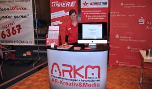 ARKM präsentiert Azubistar auf der Ausbildungsbörse Meinerzhagen