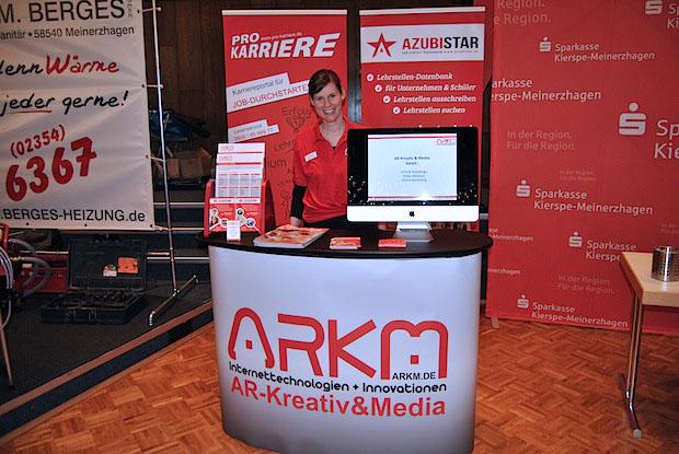 Photo of ARKM präsentiert Azubistar auf der Ausbildungsbörse Meinerzhagen