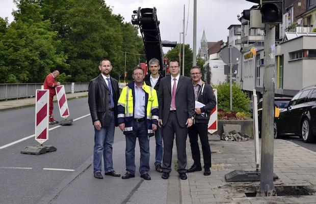 Photo of Bau der Lennepromenade beginnt mit Sanierung der Stützwand am Lennedamm