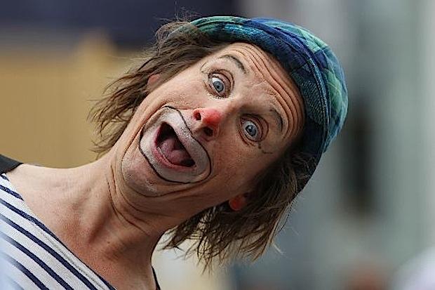 """Der Clown """"Otsch"""" (Agenturfoto/Quelle: Stadt Plettenberg - Kulturbüro)"""