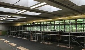 Dreifach-Turnhalle: Unterdecke wird erneuert