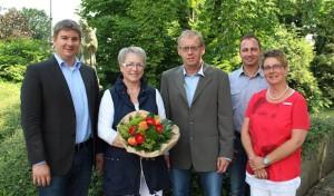 Christa Köhler und Hubert Steffens feiern ihr Dienstjubiläum bei der Stadt Geseke