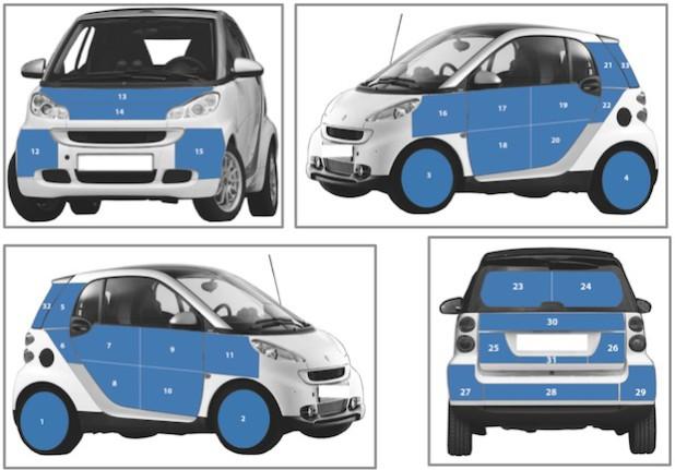 Werbepartner zur Finanzierung des Forschungsprojektes mit Hilfe von Werbeflächen auf dem Fahrzeug werden noch gesucht (Foto: ProNet Energy GmbH).
