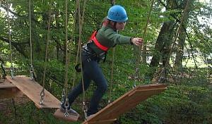 (2) Hoch hinaus im Soester Kletterpark