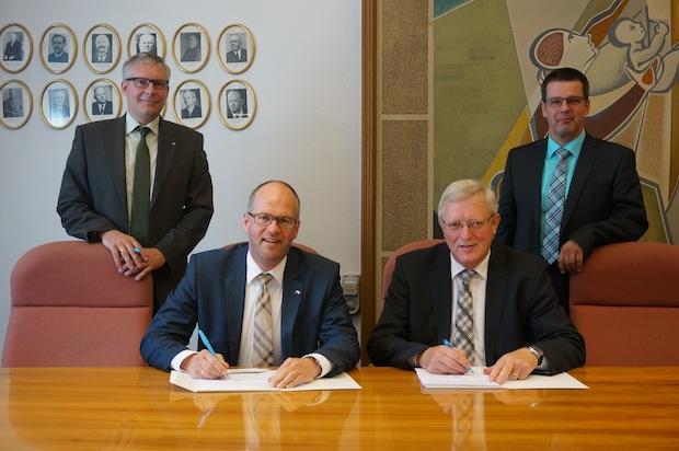 Photo of Neuer Konzessionsvertrag mit AggerEnergie abgeschlossen