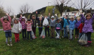 Frühjahrsputz: Geringere Abfallmenge als positives Zeichen