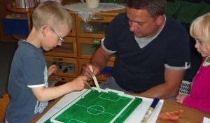 Familienzentrum Blauland im Fußballfieber