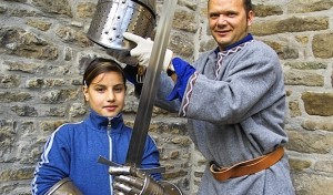 Erlebnisführung: Als Ritter im Wasserschloss