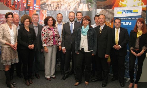 Photo of Erstes Treffen der Teilnehmer des Talentpools Lippstadt-Kreis Soest