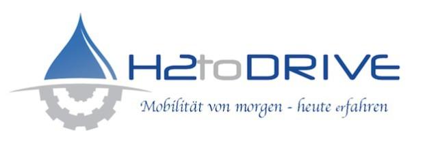 """Dieses Logo macht auf das Projekt """"H2toDRIVE"""" aufmerksam (Grafik: ProNet Energy GmbH)."""