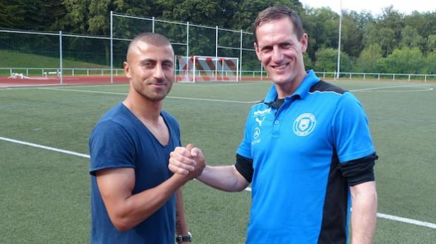 Abdullah Keseroglu und Matthias Hagner (Foto: Sportfreunde Siegen).