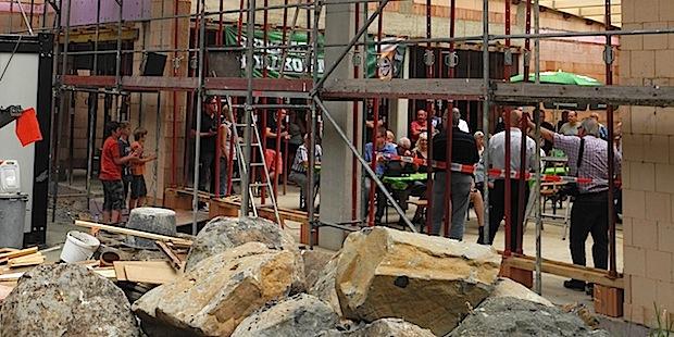 Photo of Lippe: Feuerwehrgerätehaus nimmt Form an