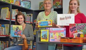 Neue Gesellschaftsspiele in der Bücherei eingetroffen