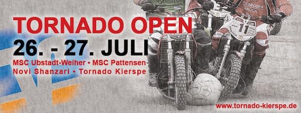 Banner zum diesjährigen Motoballturnier in Kierspe (Quelle: Sebastian Schmiedel/MSF Tornado Kierspe e.V.).