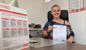 Hellas! Despina Tagkalidou aus Lüdenscheid startet ihre Karriere bei ARKM