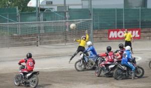 Motoball-Bundesliga: Klarer Derbysieg in Kierspe