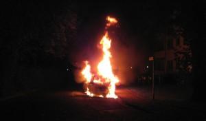 Werl: Erneuter Pkw-Brand in der Kettelerstraße