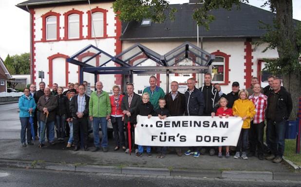 140819-Uebergabe Buswartehaus Wennigloh 003