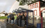 Wennigloh bekommt neues Buswartehaus