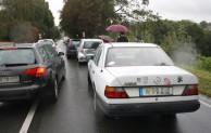 Warstein: Vor Baustelle in Fahrzeugschlange gefahren