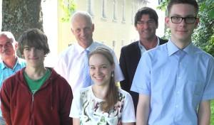 Gemeinde Burbach: Ausbildungsende und Ausbildungsbeginn