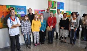Schüler der Bodelschwinghschule stellen im Marienkrankenhaus aus