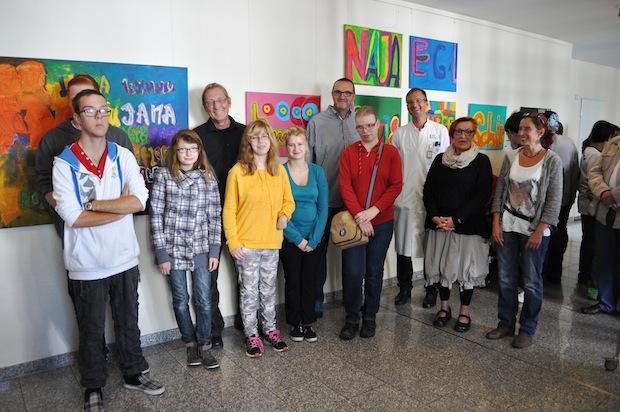 Photo of Schüler der Bodelschwinghschule stellen im Marienkrankenhaus aus