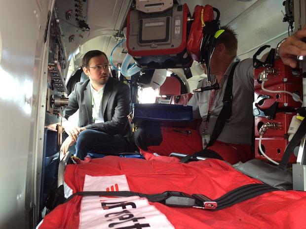 Photo of Dirk Wiese besucht die Luftrettungsstation