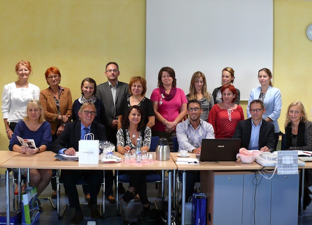 "Photo of Abschlusstreffen zum EU-Projekt ""From Integration to INClusion"""