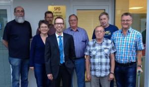 SPD-Ortsverein Niedermarsberg wählt neuen Vorstand
