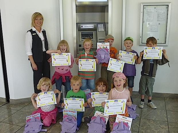 Photo of Geldforscherdiplom für Vorschulkinder
