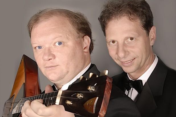 Prof. Andreij Gorbatschow und Lothar Freund (Quelle: Kreisstadt Olpe - Musikschule)