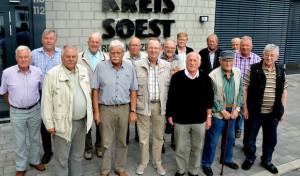 Radlergruppe Hörste im Rettungszentrum