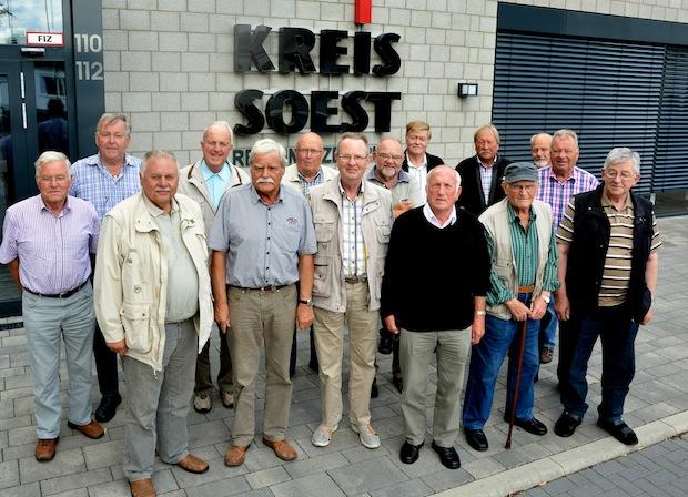 Photo of Radlergruppe Hörste im Rettungszentrum