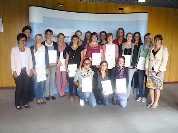 Lehrereinstellung im Sommer 2014 (Foto: Märkischer Kreis)