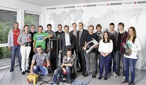 15 neue Auszubildende bei Mennekes