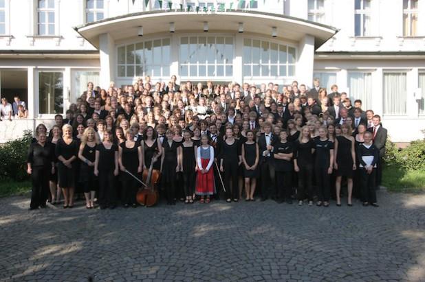 Das Märkische Jugendsinfonieorchester bei seinem 20-jährigen Jubiläum 2009 (Foto: Märkischer Kreis).